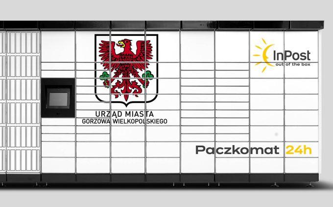Paczkomat usługi InPost   Urząd24 w Gorzowie Wielkopolskim