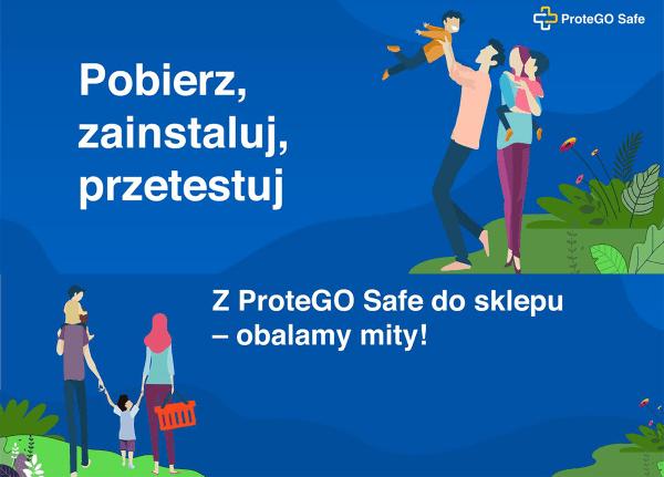 Nie musisz mieć ProteGO Safe, aby wejść do sklepu!