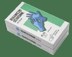 Rękawiczki ochronne w pudełku