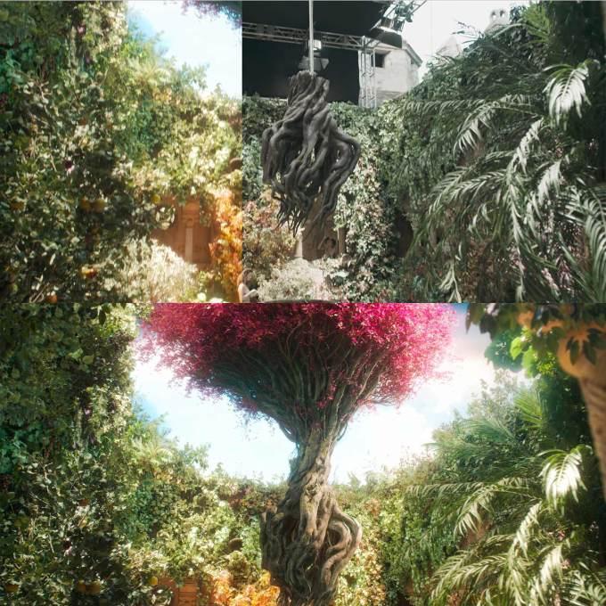 Drzewo Shan-Kayan (CGI, VFX) – Wiedźmin (The Witcher) Netflix