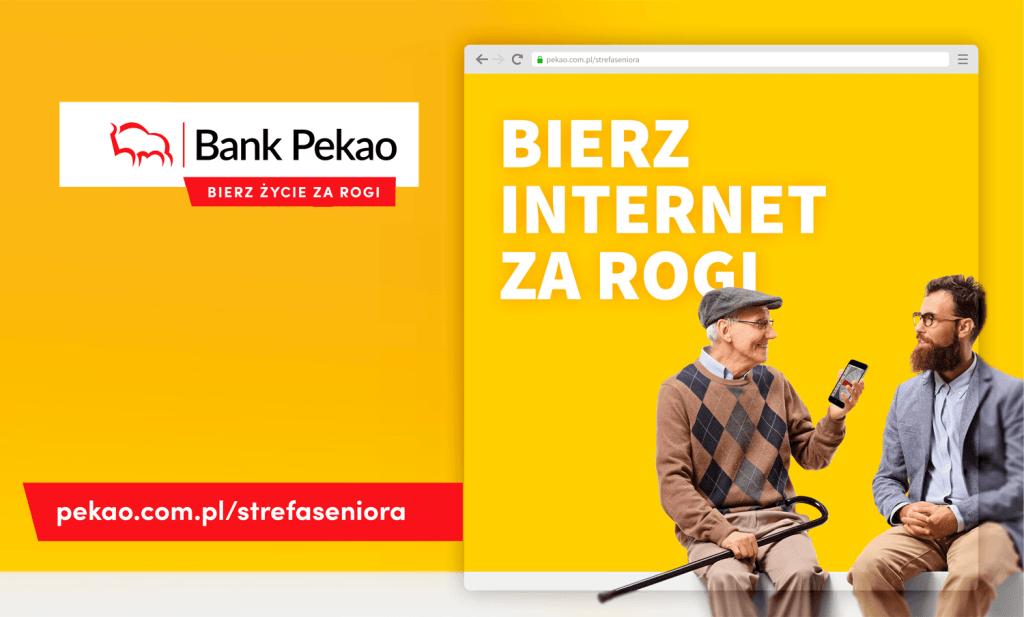 Strefa Seniora – Bierz Internet za rogi (Pekao SA)