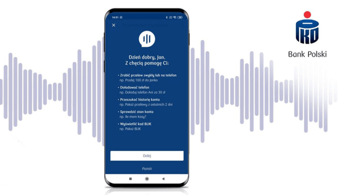 Aplikacja mobilna IKO na Androida z asystentem głosowym