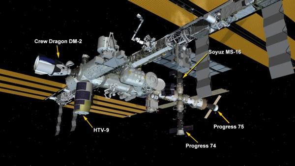 SpaceX Crew Dragon zadokował do Międzynarodowej Stacji Kosmicznej