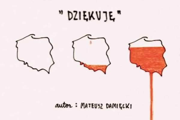 """Polityczny wiersz Damięckiego """"Dziękuję"""" – niczym """"Do prostego człowieka"""" Tuwima"""
