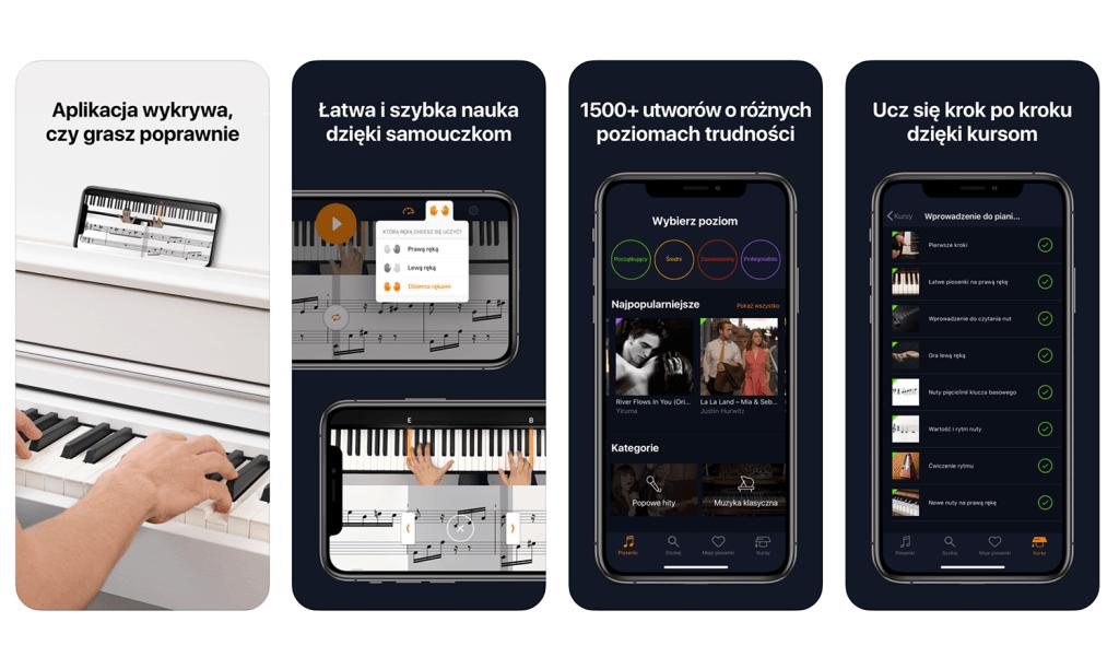 flowkey – aplikacja mobilna do nauki gry na pianinie