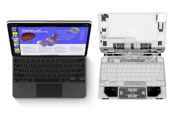 iFixit prześwietla Magic Keyboard potwierdzając klawisze nożycowe