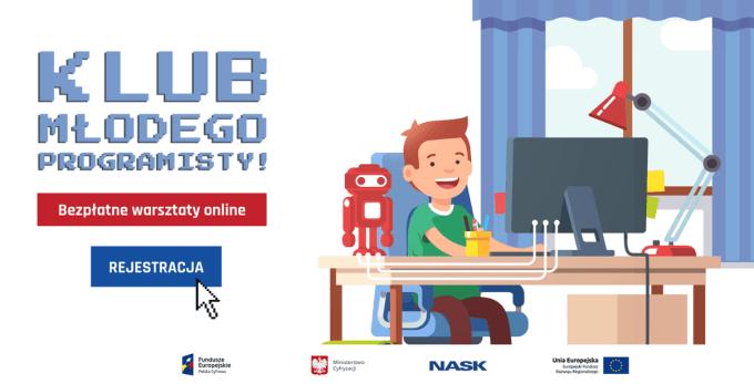 Klub Młodego Programisty – warsztaty online (maj 2020 r.)