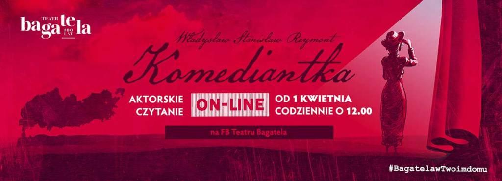 Teatr Bagatela – Komediantka