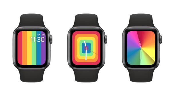 Nowe tęczowe tarcze Pride 2020 i tęczowy gradient na Apple Watchu