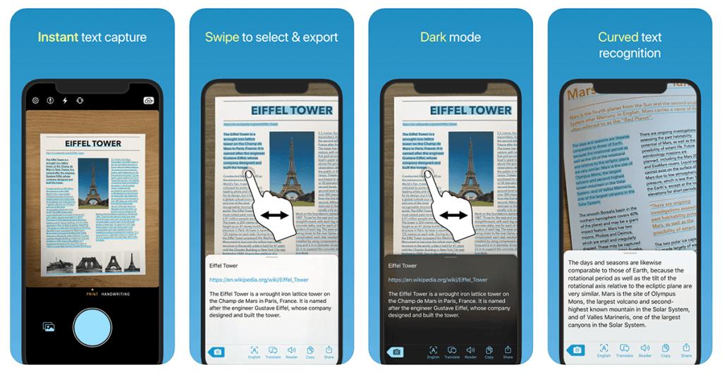 Aplikacja mobilna Prizmo Go (zrzuty ekranu)