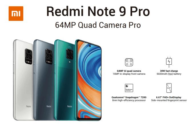 Redmi Note 9 Pro (Xiaomi)
