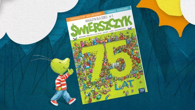 """""""Świerszczyk"""" numer 5/2020 (2946) z okazji 75-lecia"""