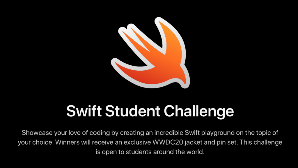 WWDC20: Swift Student Chellange (Apple)