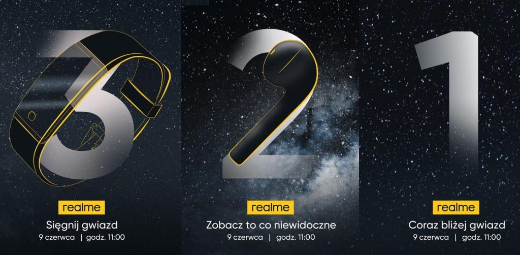 3, 2, 1, - realme - coraz bliżej gwiazd 9 czerwca 2020 r. o godz. 11:00