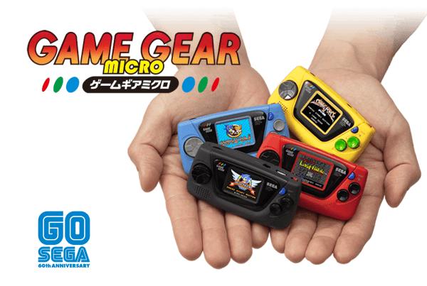 Game Gear Micro od SEGA to 4 minikonsole z 4 różnymi grami