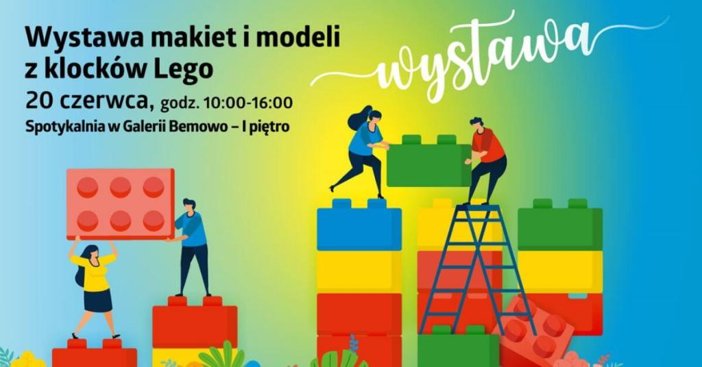 WAWLUG – Wystawa makiet i modeli z klocków LEGO - Spotykalnia 20 czerwca 2020 r. (10:00-16:00)