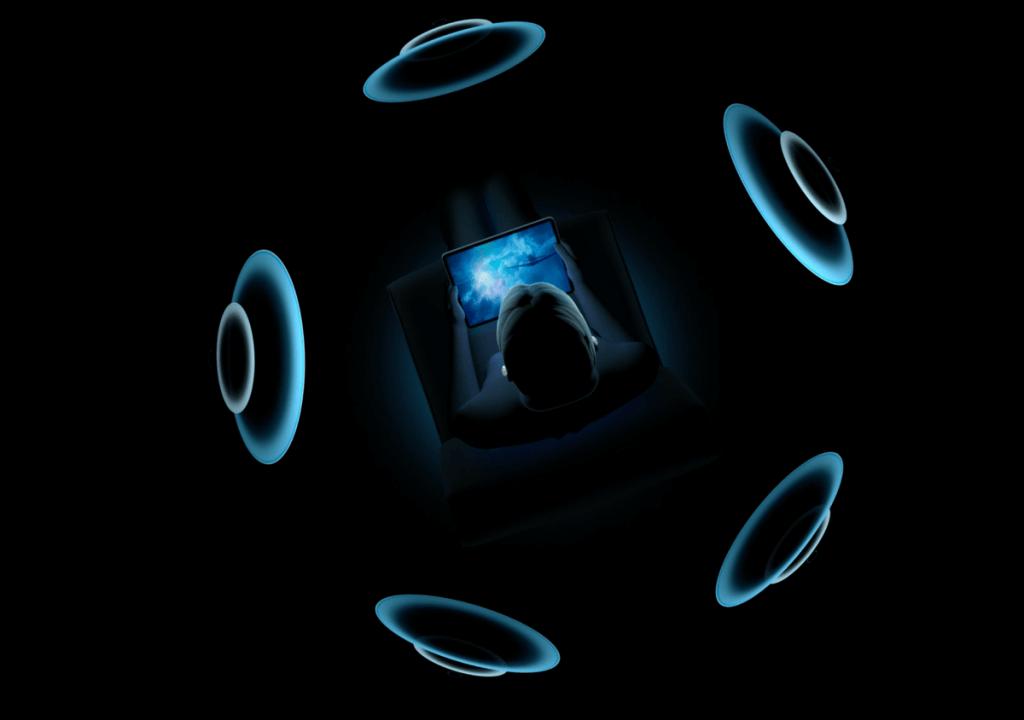 AirPods Pro - dźwięk przestrzenny