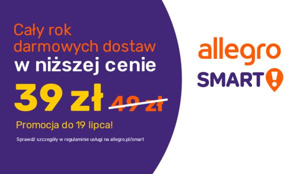 Allegro Smart! na rok w niższej cenie – tylko 39 zł
