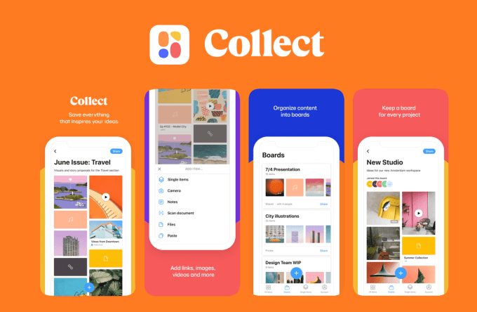 Collect: Save and share ideas (WeTransfer BV)