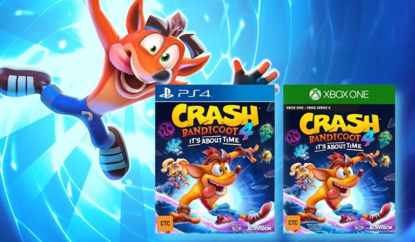 "Nowa gra ""Crash Bandicoot 4: It's About Time"" – w samą porę!"