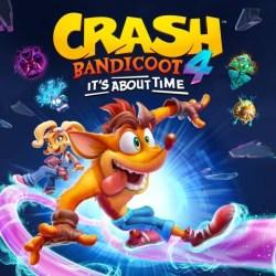 Okładka cyfrowego wydania gry: Crash Bandicoot 4: It's About Time