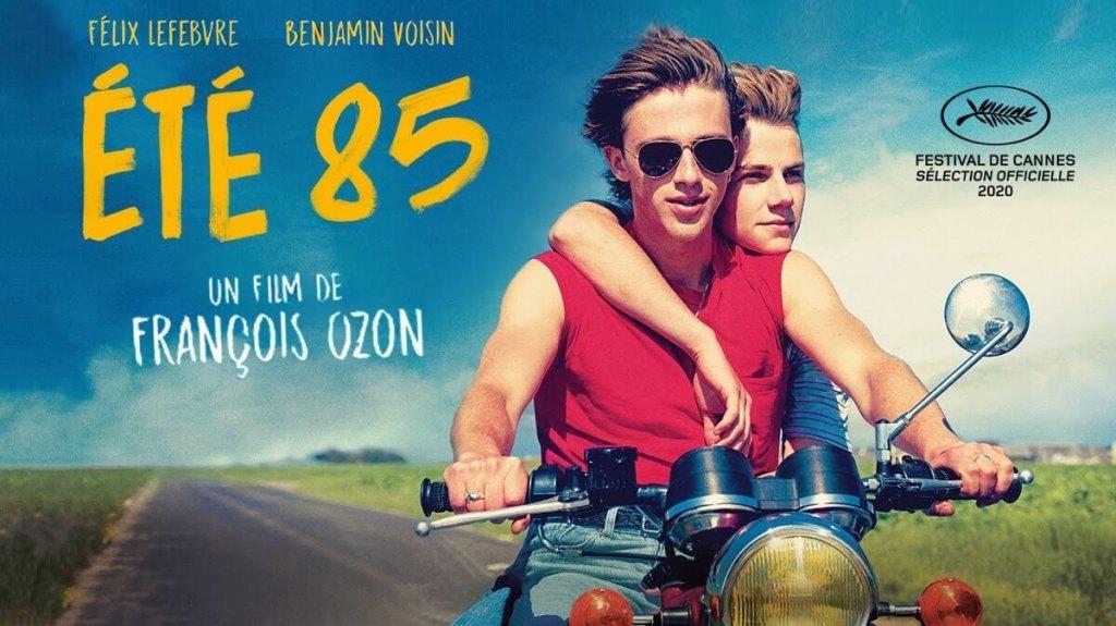 """Film: Été '85 (ang. """"Summer of 85"""", pol. """"Lato 85"""") François Ozon, Cannes 2020"""