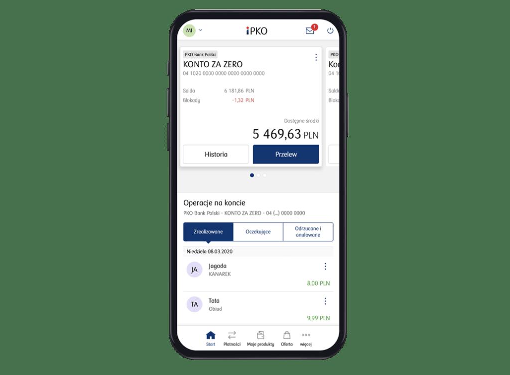 iPKO mobile (czerwiec 2020)