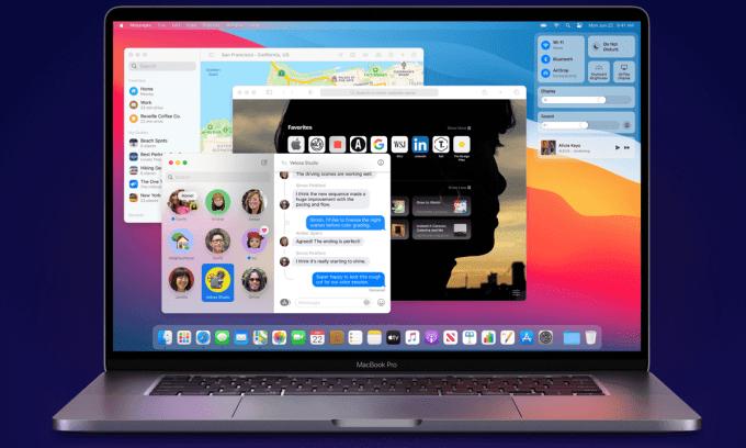 macOS Big Sur (screen)