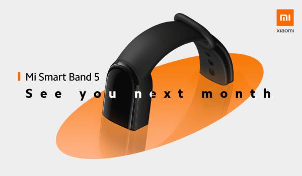 Mi Smart Band 5 już w lipcu trafi do Europy