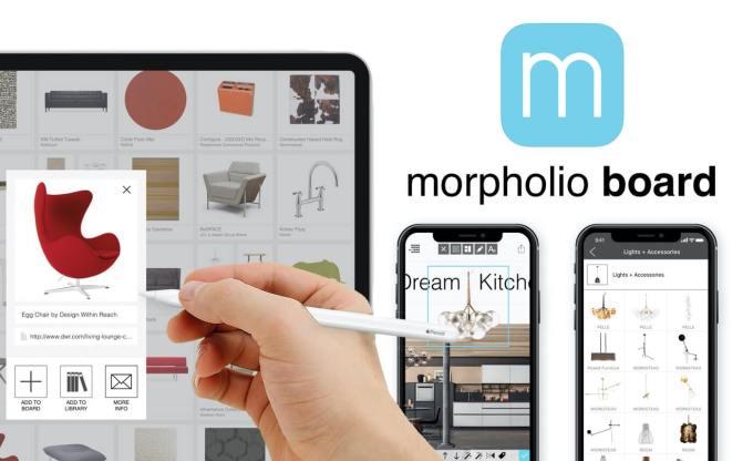 Aplikacja mobilna Morpholio Board