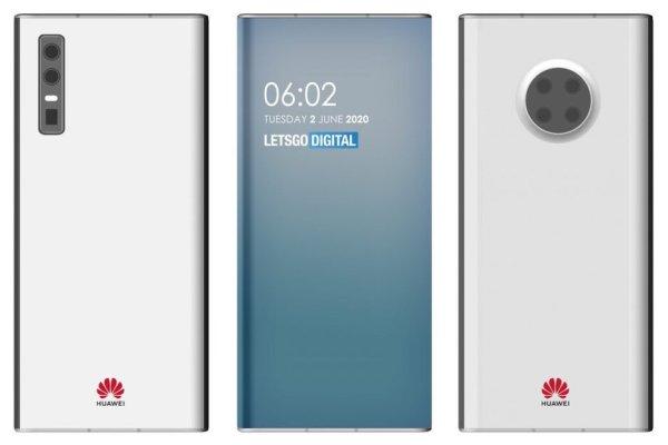 Patenty smartfonów Huawei z kamerą pod ekranem