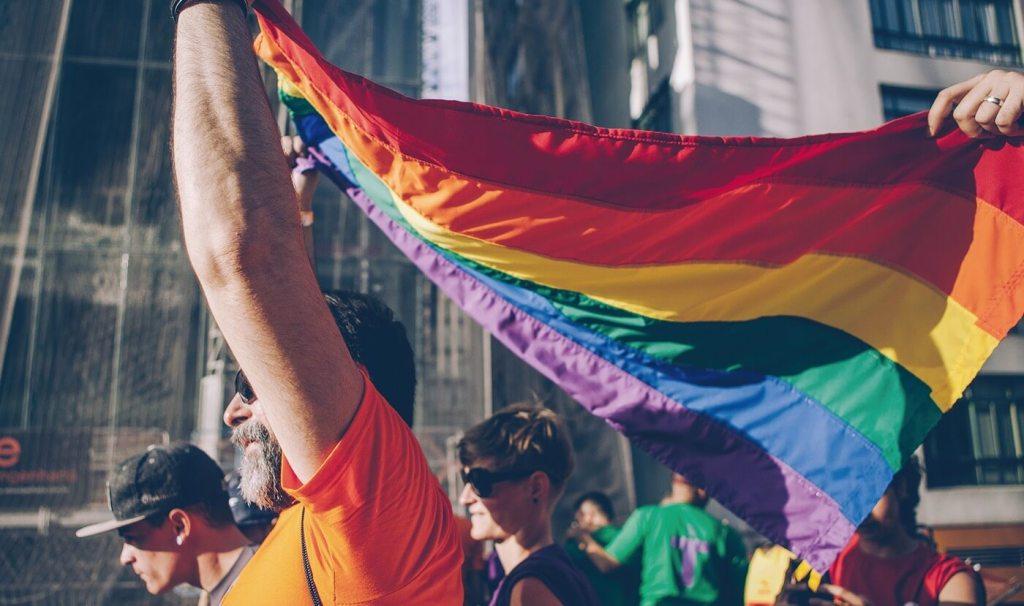 Levante a bandeira do orgulho LGBT [Raise the LGBT Pride flag], 2017 - Adriana de Maio