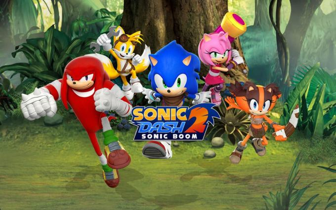 "Gra mobilna ""Sonic Dash 2: Sonic Boom"""