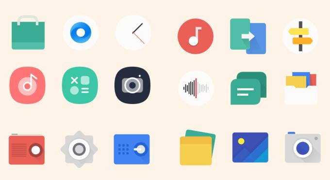 Style ikon ColorOS 7