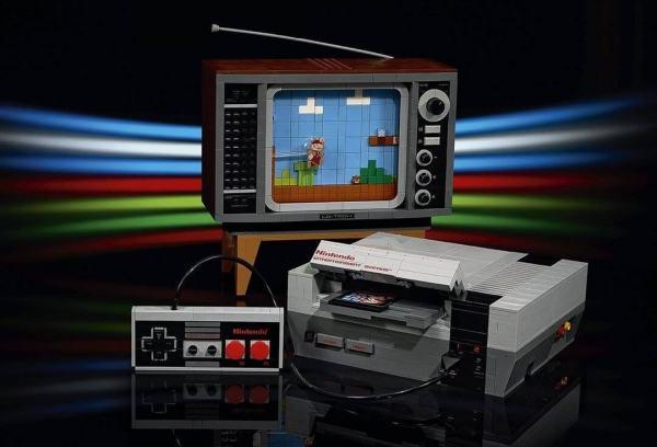 Replika gry Mario na NES z 2646 klocków LEGO!