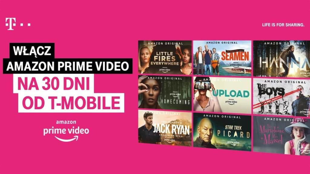 Dostęp do Amazon Prime Video na 30 dni od T-Mobile
