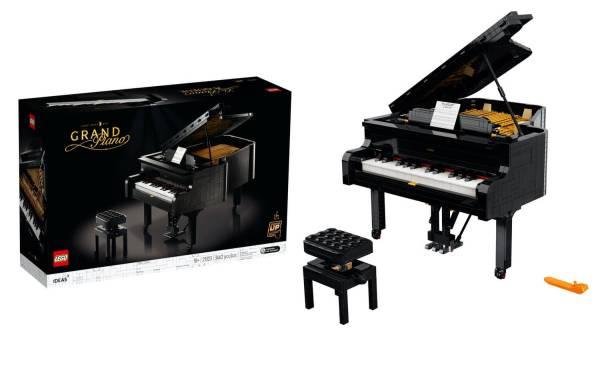 """Pierwszy w historii """"grający"""" fortepian LEGO®"""