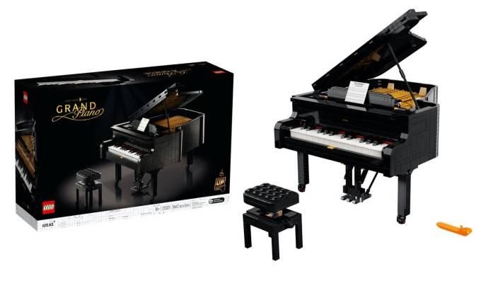 Fortepian (Grand Piano – LEGO IDEAS #031) model #21323