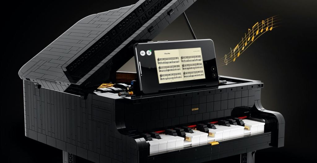 Grający Fortepian LEGO IDEAS model #21323