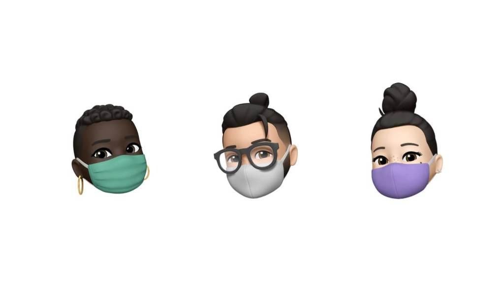 Maski Memoji, które pojawią się pod iOS 14