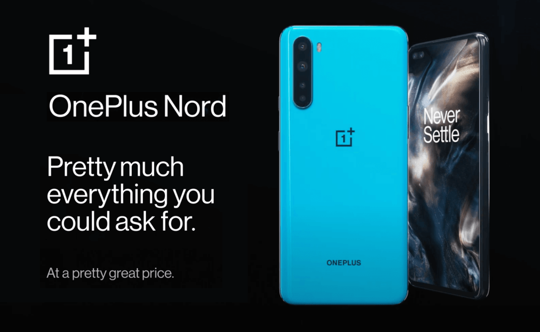 OnePlus Nord 5G (oficjalnie)