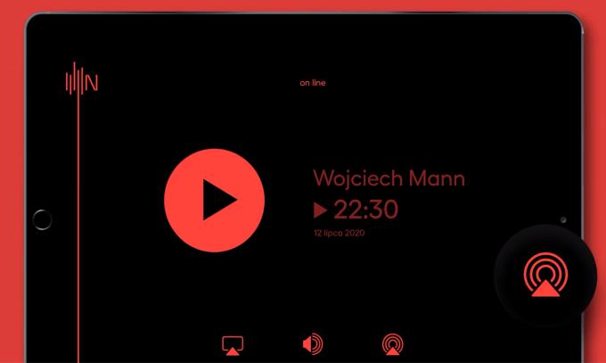 Oficjalna aplikacja mobilna Radia Nowy Świat (tablet)