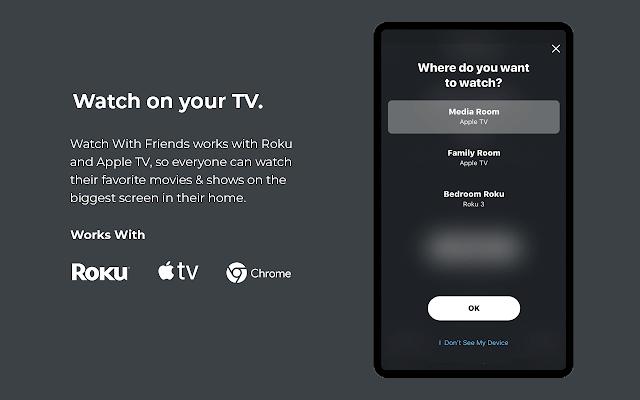 Watch With Friends - aplikacja