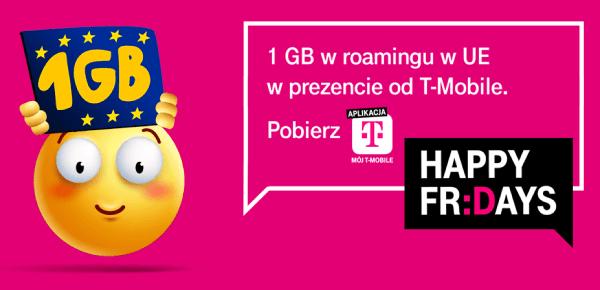 1 GB w roamingu w UE w prezencie od T-Mobile