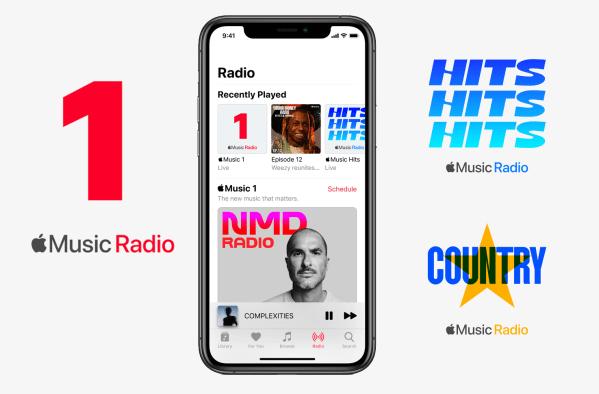 Apple Music Radio z dwiema nowymi stacjami