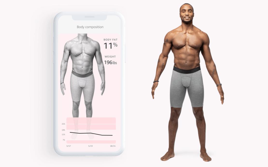Amazon Halo Body Fat (aplikacja mobilna opaski)