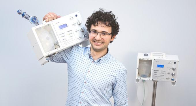 Breath (Mudita) - prototyp urządzenia