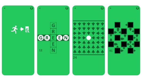 """Rozwikłaj barwne zagadki w grze """"Green (game)"""""""