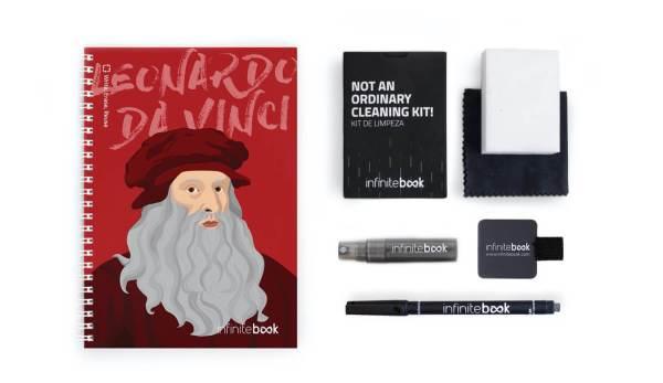 InfiniteBook – ekologiczny notes wielokrotnego użytku