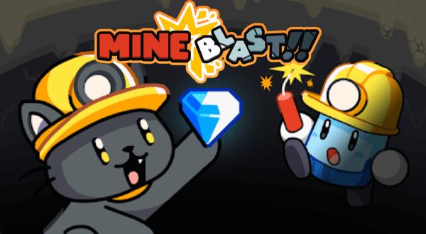 """Wybuchowa gra """"Mineblast!!"""" w klasycznym stylu!"""
